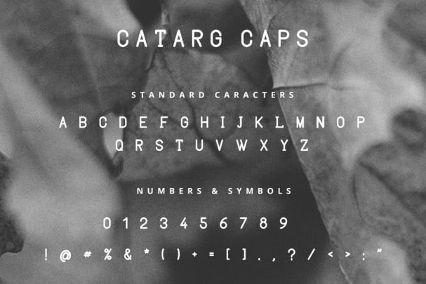 Download Catarg font (typeface)