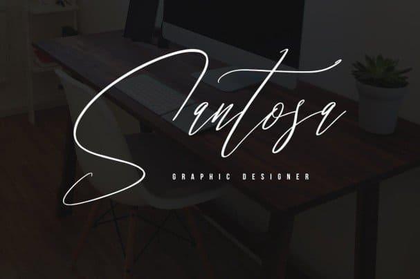 Download Santashoes Typeface font (typeface)
