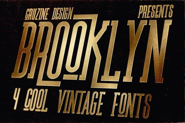 Download Brooklyn Typeface font (typeface)