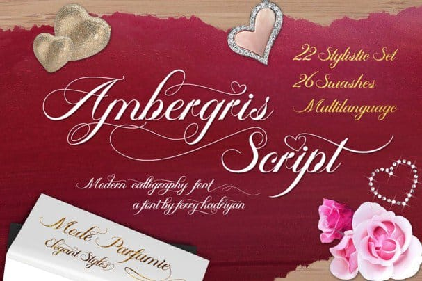 Download Ambergris font (typeface)