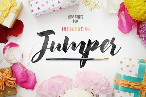 Download Jumper Script Fonts font (typeface)