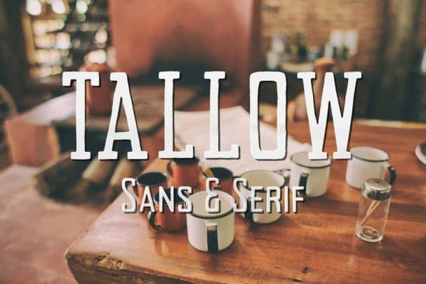 Download Tallow font (typeface)