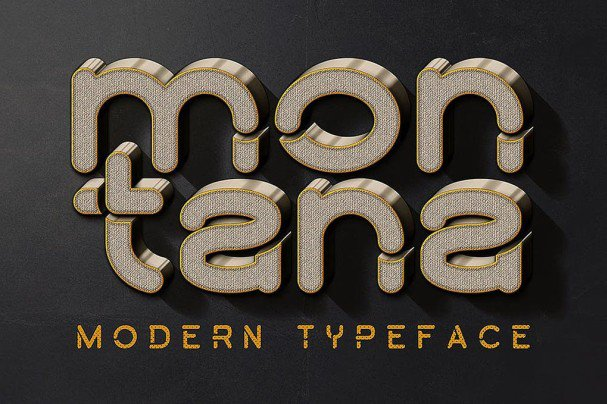 Download Montana font (typeface)