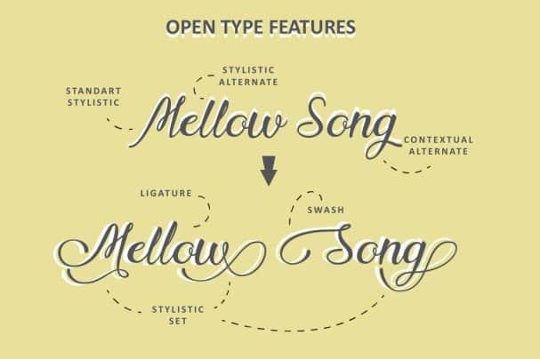 Download Nadhine Script font (typeface)