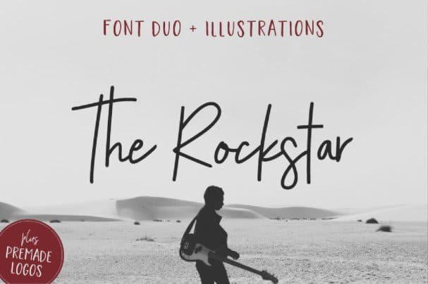 Download The Rockstar Font Duo font (typeface)