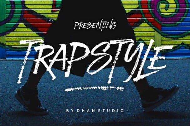 Download Trapstyle Typeface font (typeface)