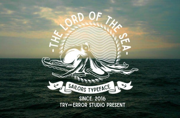 Download Sailors font (typeface)
