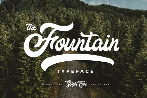 Download Fountain type font (typeface)