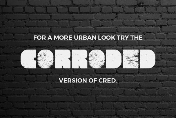 Download Cred Typeface font (typeface)
