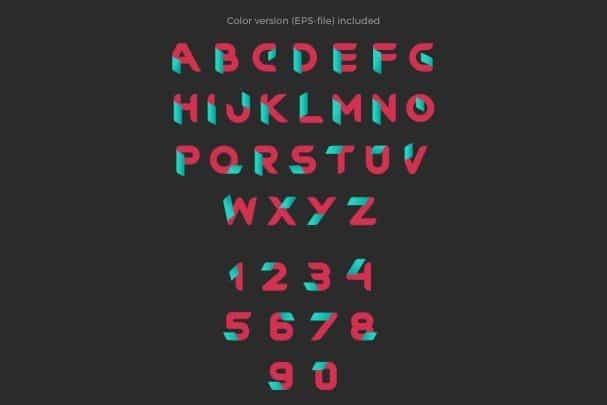 Download RibOne font font (typeface)