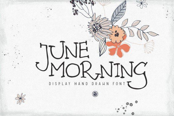 Download June Morning Font font (typeface)