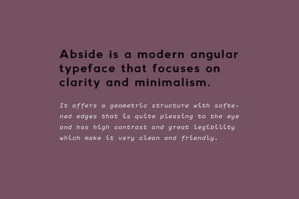 Download Abside font (typeface)