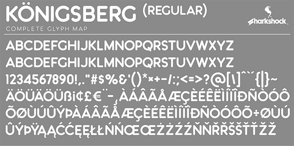 Download Königsberg font (typeface)