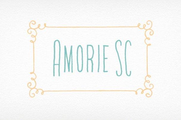 Download Amorie SC Font Family font (typeface)