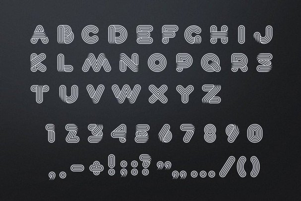 Download Lineat font (typeface)