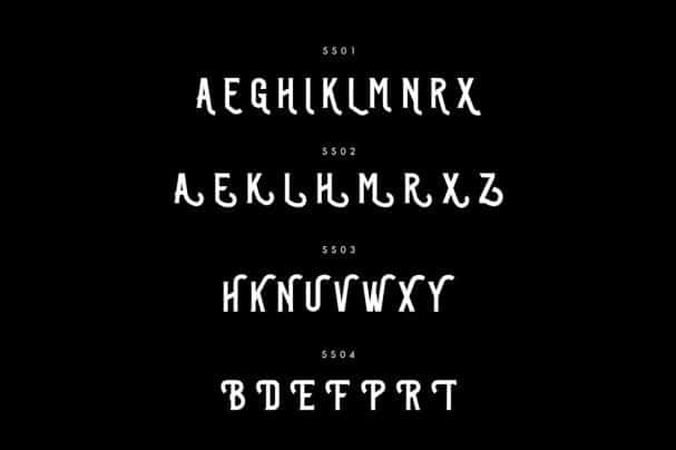 Download Past-Neuer Typeface font (typeface)