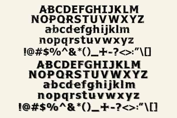 Download Vintama font (typeface)