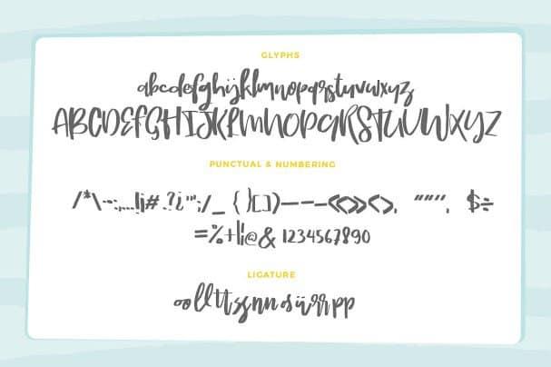 Download Mield Script font (typeface)