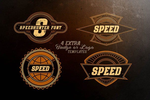 Download Speed Hunter font (typeface)