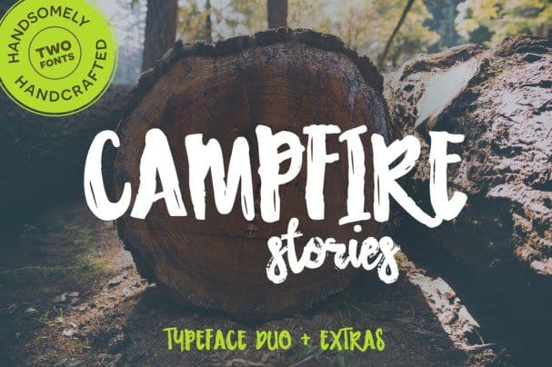 Download Campfire Stories Font Duo font (typeface)