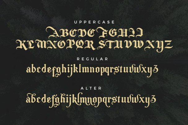 Download The Bjorke - Handmade Fonts font (typeface)