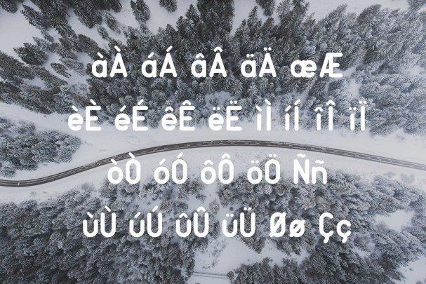 Download Rouge Sans font (typeface)