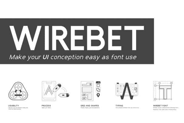 Download Wirebet Fonts font (typeface)