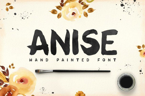 Download Anise font (typeface)