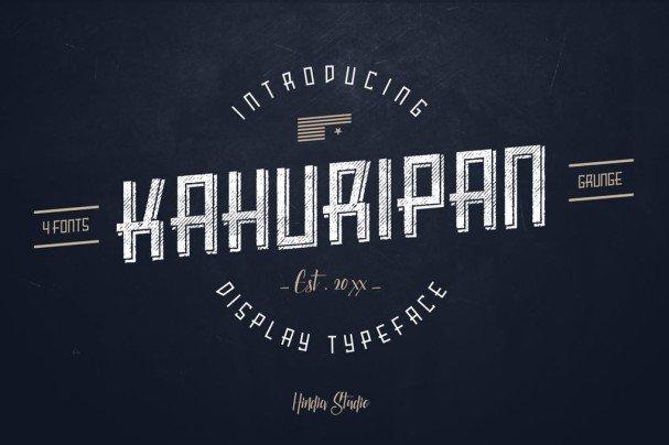 Download Kahuripan font (typeface)