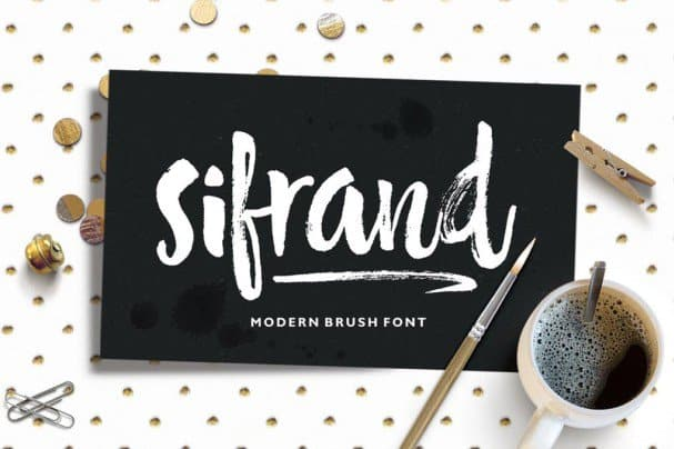 Download Sifrand Script font (typeface)