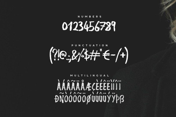 Download Nigma - Brush font (typeface)