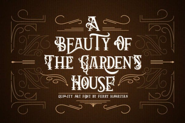 Download Arthouse - Display Font font (typeface)