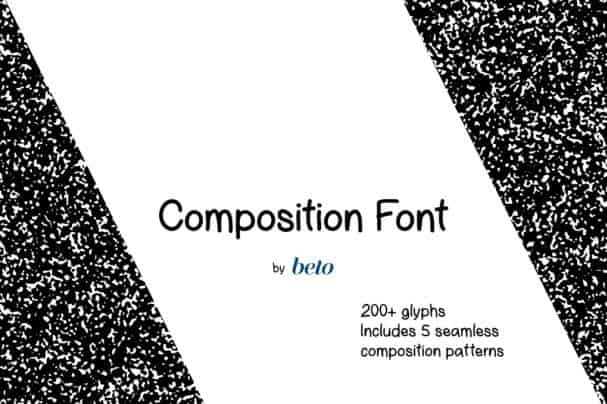Download Composition Font + Extras font (typeface)