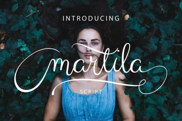 Download Martila font (typeface)