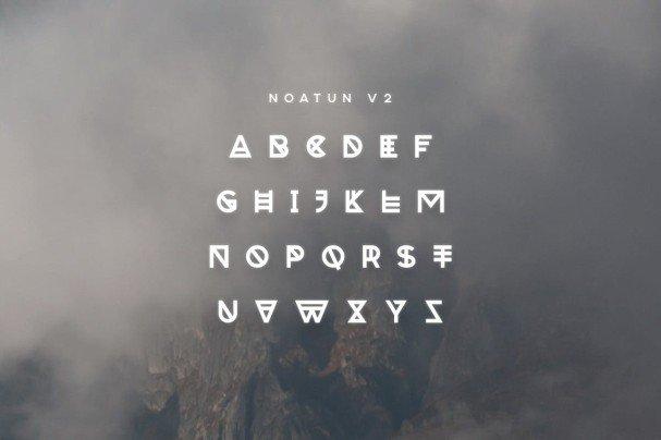 Download Noatun Typeface font (typeface)