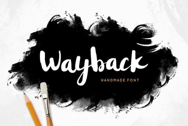 Download Wayback font (typeface)