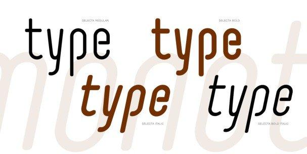 Download Selecta font (typeface)