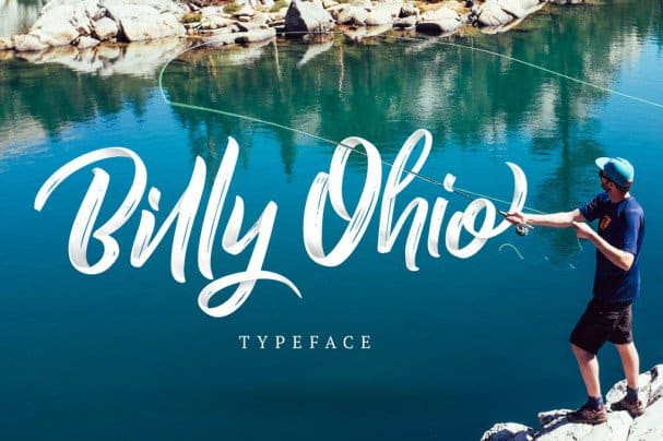 Download Billy Ohio Typeface font (typeface)