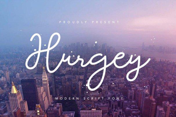 Download Hurgey font (typeface)