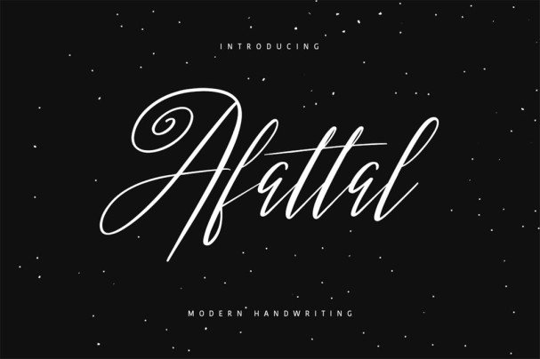 Download Afattal Typeface font (typeface)