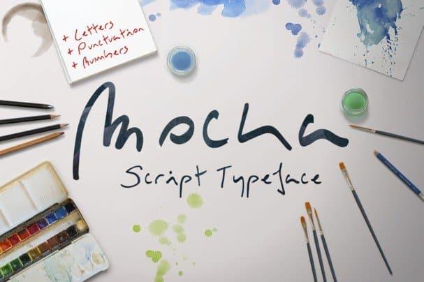 Download Mocka Typeface font (typeface)