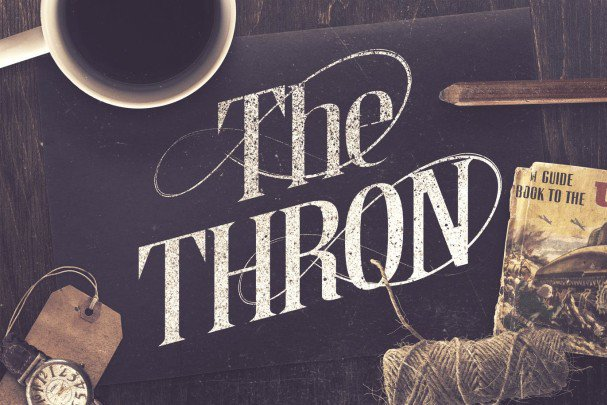 Download The Thron Typeface font (typeface)
