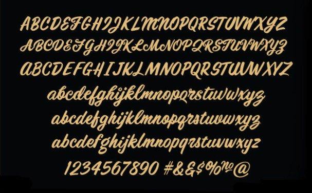 Download Santoro Script font (typeface)