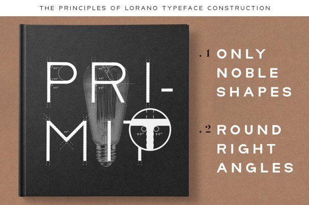 Download Lorano Family font (typeface)
