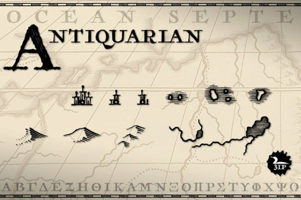 Download Antiquarian font (typeface)