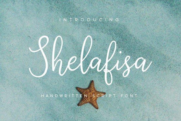 Download Shelafisa font (typeface)