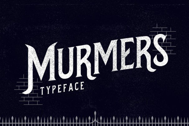Download Murmers Typeface font (typeface)
