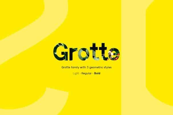 Download Grotte font (typeface)