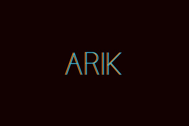Download Arik font (typeface)