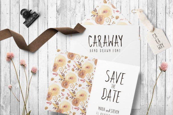 Download Caraway font (typeface)